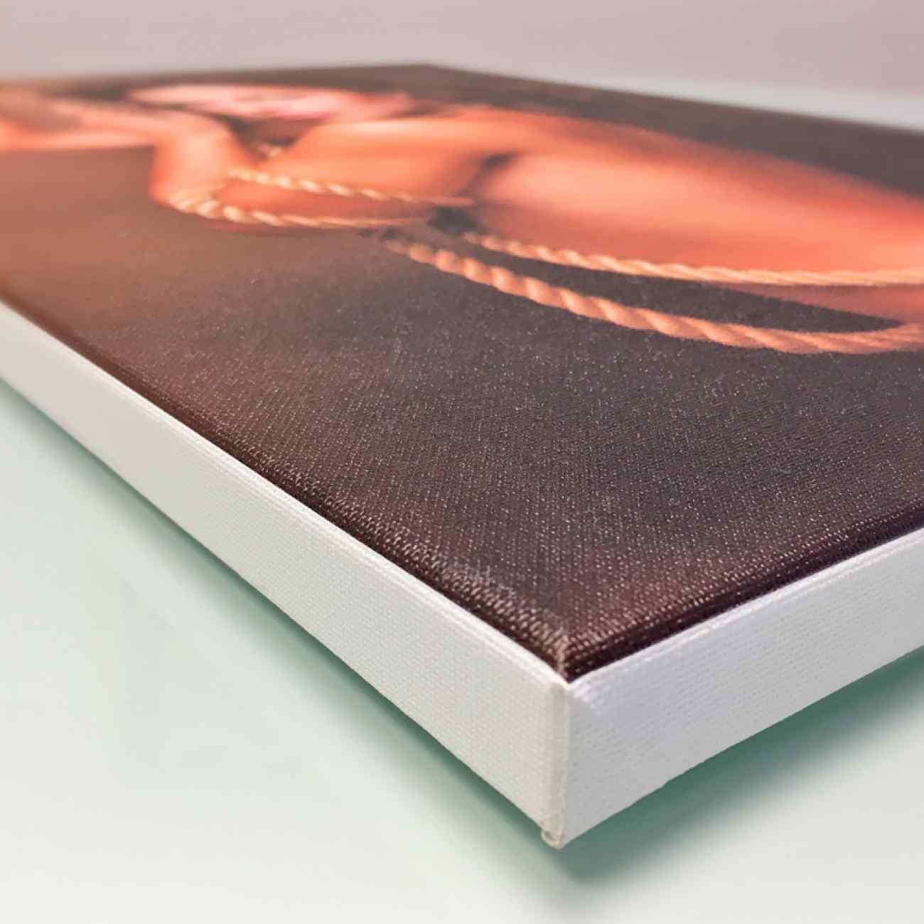 Foto na platne biely ram